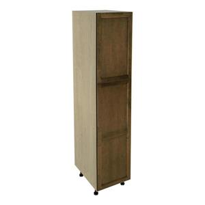 18-in x 79-in Mocha Swirl Utility Cabinet with Door