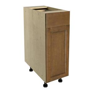 12-in x 30-in Mocha Swirl Base Cabinet with Door