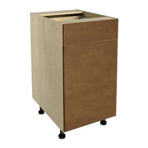 18-in x 30-in Mocha Swirl 3-Drawer Chest with Drawer Fronts