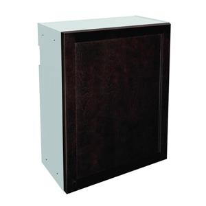 24-in x 30-in Brownstone Beat Upper Cabinet with Door