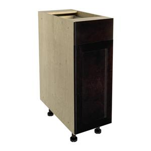 12-in x 30-in Brownstone Beat Base Cabinet with Door