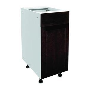 15-in x 30-in Brownstone Beat Base Cabinet with Door