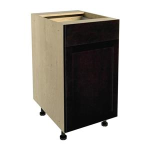 18-in x 30-in Brownstone Beat Base Cabinet with Door