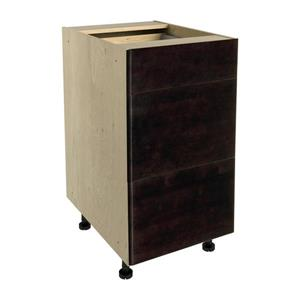 18-in x 30-in Brownstone Beat 3-Drawer Chest with Drawer Fronts