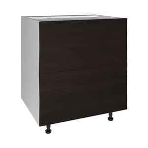 30-in x 30-in Brownstone Beat 2-Drawer Chest with Drawer Fronts