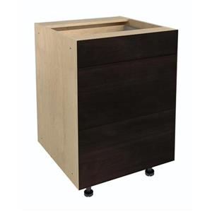 24-in x 30-in Brownstone Beat 3-Drawer Chest with Drawer Fronts