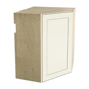 24-in x 30-in Veranda Breeze Upper Corner Cabinet with Door