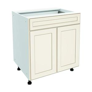 30-in x 30-in Veranda Breeze Base Cabinet with Doors