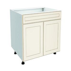 30-in x 30-in Veranda Breeze Sink Cabinet with Doors