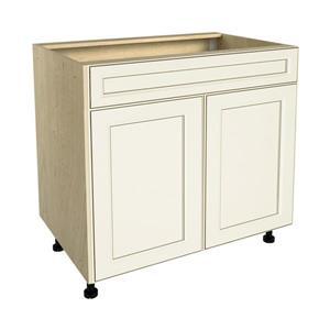 36-in x 30-in Veranda Breeze Sink Cabinet with Doors
