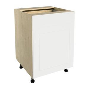 24-in x 30-in Vanilla Shake Base Cabinet with Door