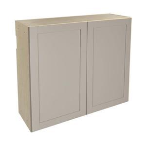 36-in x 30-in Sea Salt Upper Cabinet with Doors