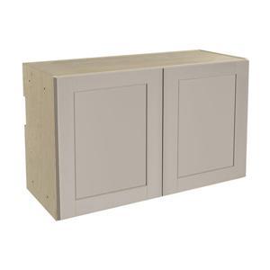30-in x 18-in Sea Salt Upper Cabinet with Doors
