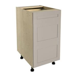 18-in x 30-in Sea Salt 3-Drawer Chest with Drawer Fronts