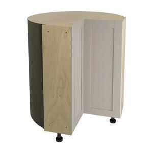 36-in x 30-in Sea Salt Corner Cabinet with Doors