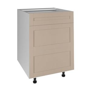 24-in x 30-in Sea Salt 3-Drawer Chest with Drawer Fronts
