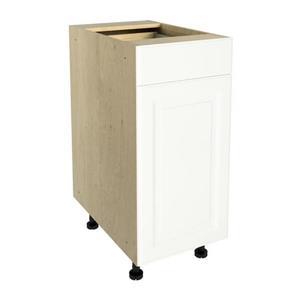 15-in x 30-in Milk Mustache Base Cabinet with Door