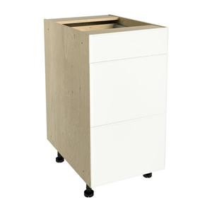 18-in x 30-in Milk Mustache 3-Drawer Chest with Drawer Fronts