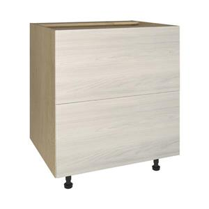 30-in x 30-in Urban Rush 2-Drawer Chest with Drawer Fronts
