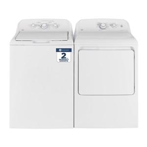 Ge Top Load Washer And Dryer Set Gtw330bmmww Gtd40ebmkww