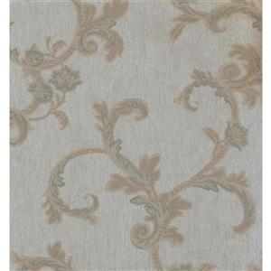 York Wallcoverings Trellis Traditional Wallpaper - Grey/Beige