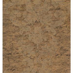 York Wallcoverings Trellis Traditional Wallpaper - Beige/Brown