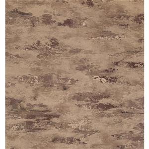 York Wallcoverings Stripes Modern Wallpaper - Beige/Brown