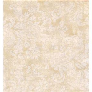 York Wallcoverings Paisley Modern Wallpaper - Beige/Cream