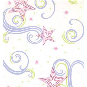 York Wallcoverings Kids Wallpaper for Boys and Girls - Cream