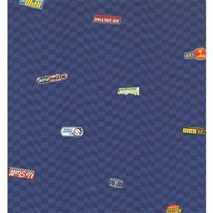 York Wallcoverings Kids Wallpaper for Boys and Girls - Blue