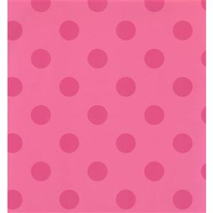 York Wallcoverings Kids Wallpaper for Boys and Girls - Pink