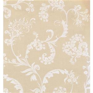 York Wallcoverings Floral Colourful Wallpaper - Cream/White