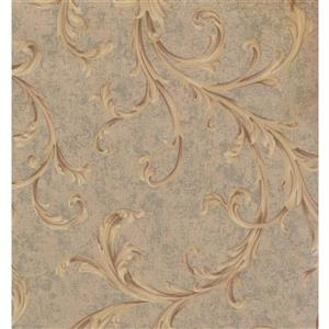 York Wallcoverings Floral Colourful Wallpaper - Beige