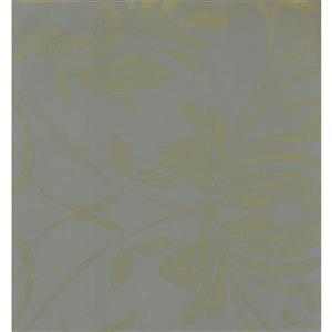 York Wallcoverings Floral Colourful Wallpaper - Grey