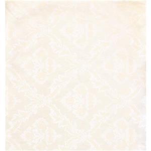 York Wallcoverings Damask Traditional Wallpaper - Cream