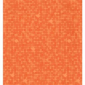 York Wallcoverings Abstract Modern Wallpaper - Orange