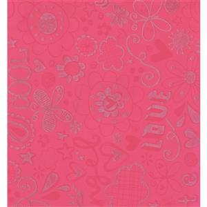 York Wallcoverings Abstract Modern Wallpaper - Pink