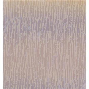 York Wallcoverings Abstract Modern Wallpaper - Beige/Violet