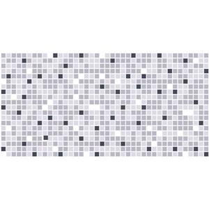 "Retro Art 3D Retro Wall Panel - PVC - 37"" x 19"" - Grey Mix"