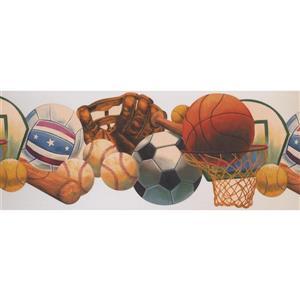 Retro Art Sports Wallpaper - Multicolour