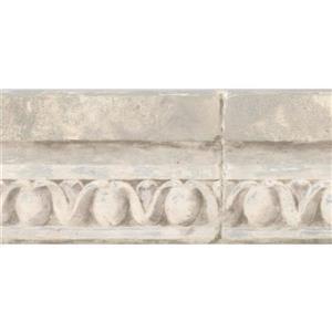 York Wallcoverings Vintage Crown Molding Wallpaper Border