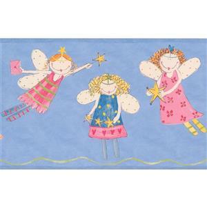 York Wallcoverings Kids Flying Angels Wallpaper Border