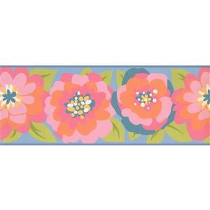 York Wallcoverings Kids Floral Wallpaper