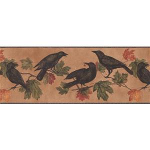 York Wallcoverings Black Birds Wallpaper