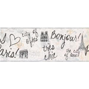 York Wallcoverings Paris Modern Wallpaper