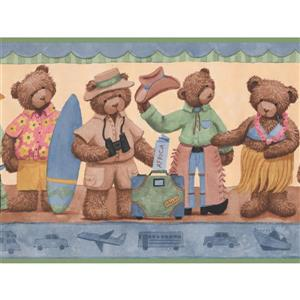 York Wallcoverings Teddy Bears in Costumes Wallpaper Border