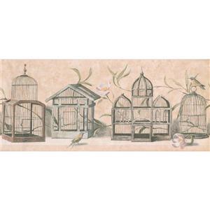 York Wallcoverings Antique Bird Cages Wallpaper Border