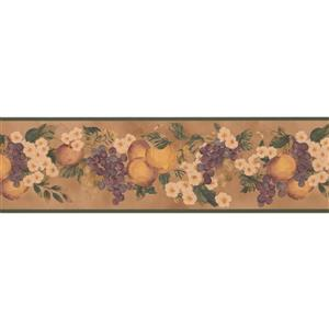 York Wallcoverings Fruit Wallpaper Border - Yellow