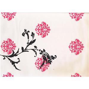 York Wallcoverings Abstract Damask Wallpaper - Pink