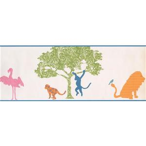 York Wallcoverings Animals and Tree Wallpaper